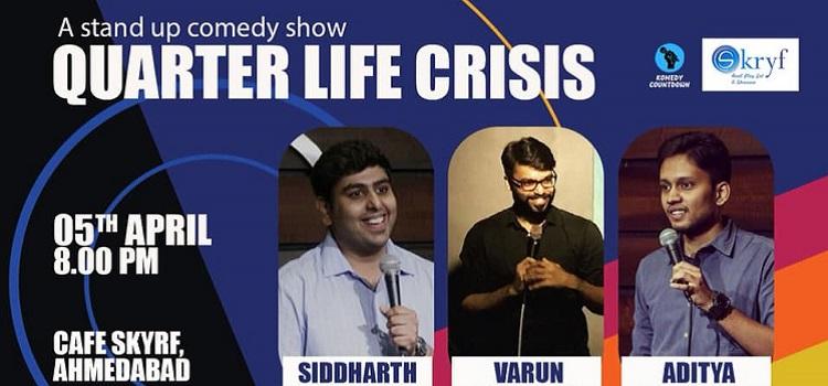Comedy Show At Cafe Skryf Ahmedabad