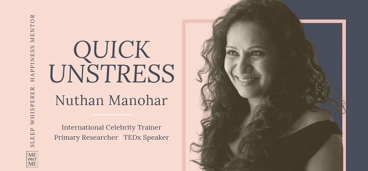 Quick Unstress Workshop With Nuthan Manohar by Online Events