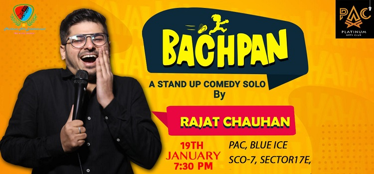Comedy By Rajat Chauhan At PAC Chandigarh