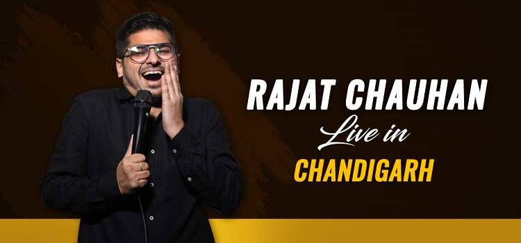 Rajat Chauhan Live At The Laugh Club Chandigarh by Laugh Club