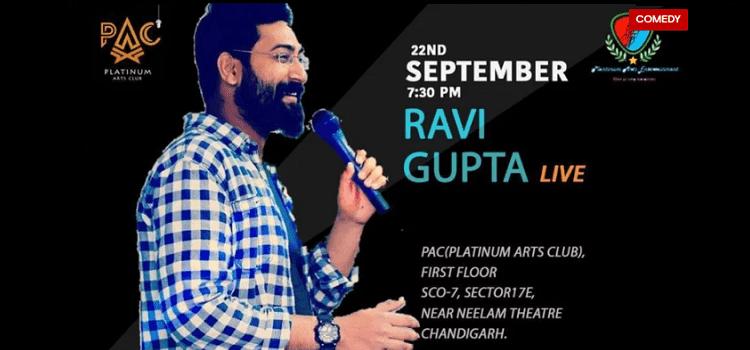 Ravi Gupta Performing Live In Chandigarh by Platinum Arts Club