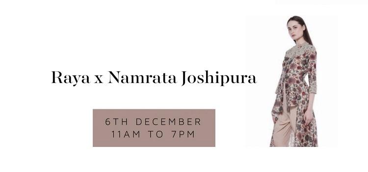 Raya X Namrata Joshipura Exhibition In Chandigarh