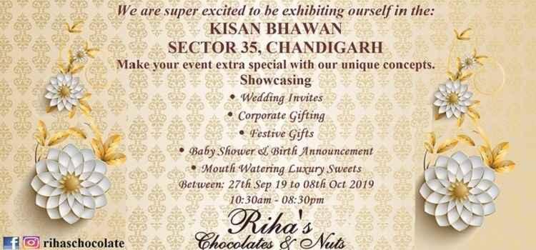 Riha's Wedding & Chocolate Expo in Chandigarh