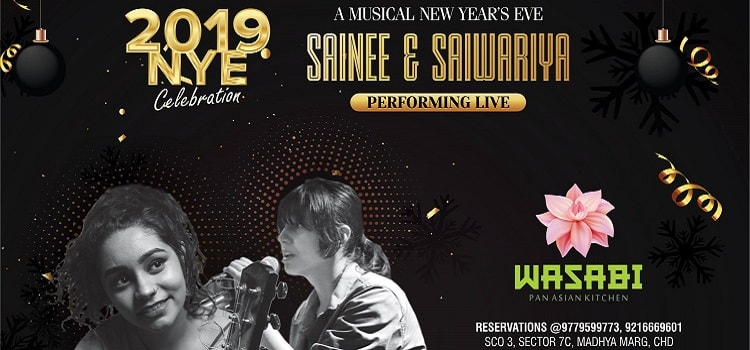 Get Ready For A Musical New Year's Eve With Sainee & Saiwariya Performing Live At Wasabi