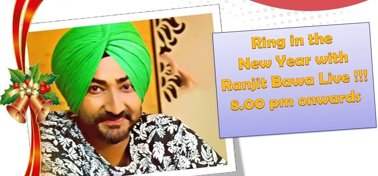 Ring In The New Year With Ranjit Bawa Live Performance In Chandigarh