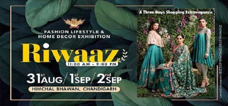 Riwaaz Fashion Lifestyle & Home Decor Exhibition by Himachal Bhawan