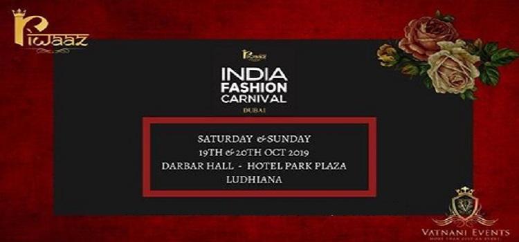 Riwaaz India Fashion Carnival in Ludhiana