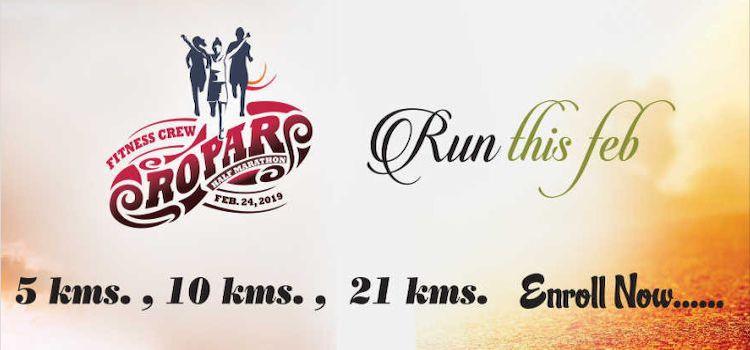 Fitness Crew Presents Ropar Half Marathon by Nehru Stadium