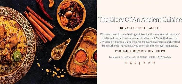 Royal Cuisine Of Arcot at Saffron - JW Marriott by Saffron - JW Marriott