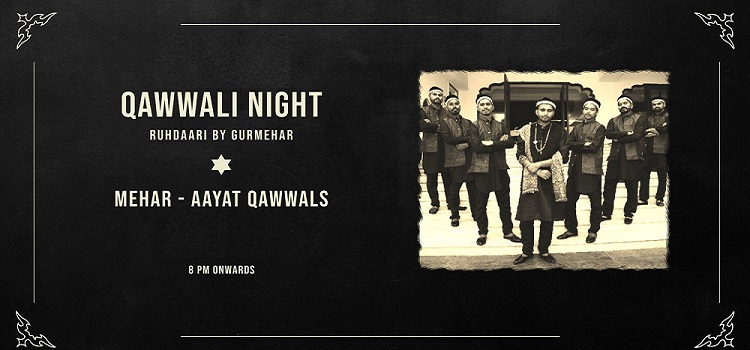 Qawwali Night By Ruhdaari At Satva Skybar Elante