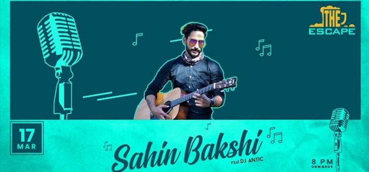 Sachin Bakshi Live At The Escape