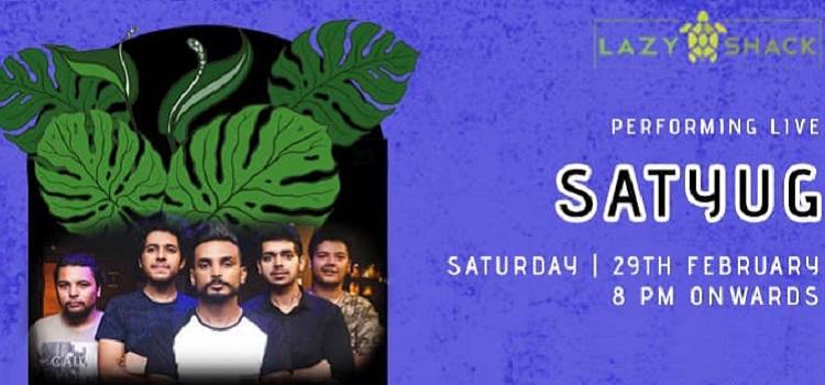 Saturday Night Ft. Satyug Band Live At Lazy Shack
