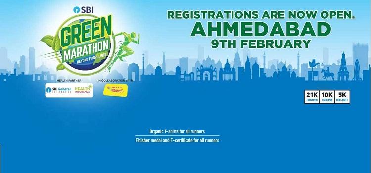 SBI Green Marathon In Ahmedabad