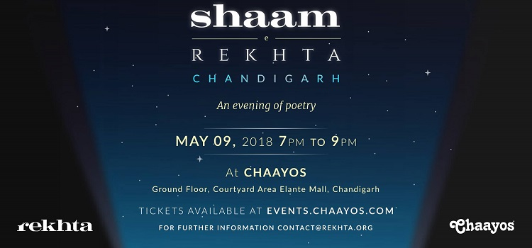 Shaam-e-Rekhta : An Evening Of Poetry At Chaayos