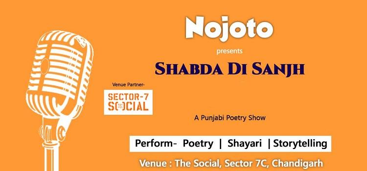 Nojoto Presents: Shabda di Sanjh Punjabi Poetry Show
