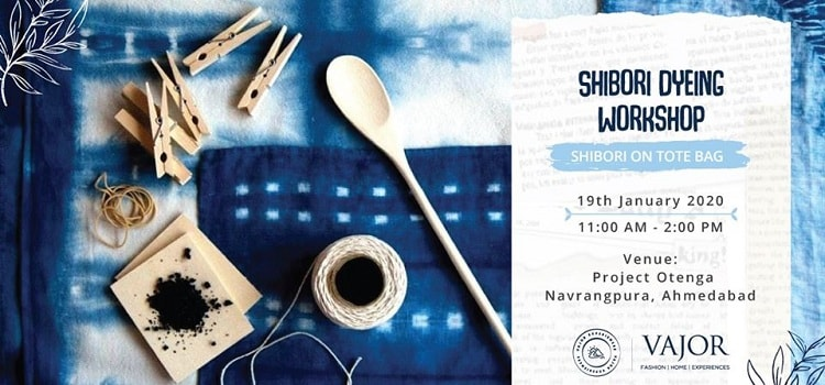 Shibori Dyeing Workshop At Otenga In Ahmedabad