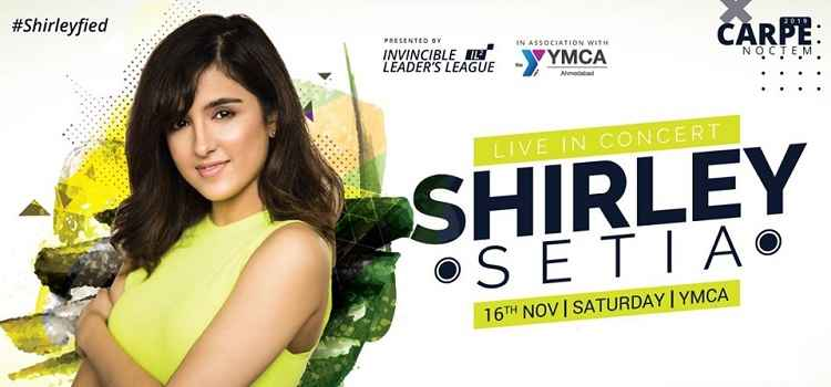 Shirley Setia Performing Live In Ahmedabad