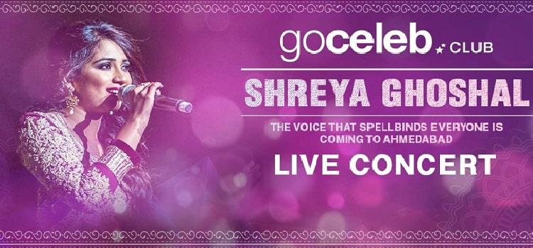Shreya Ghoshal live At Rajpath Club Ahmedabad