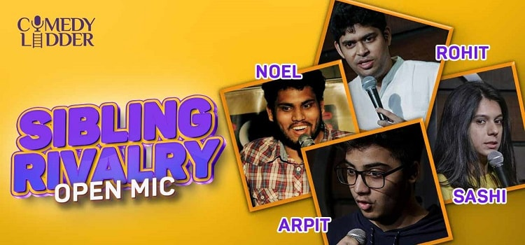 Sibling Rivalry: Open Mic Online Event