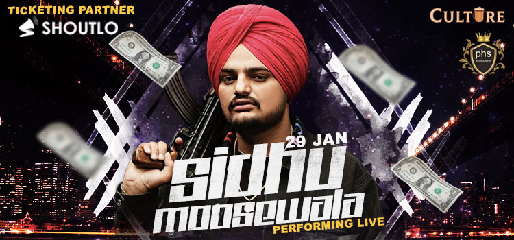 Sidhu Moosewala Performing Live At Culture