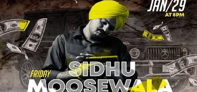 Sidhu Moosewala Performing Live At Culture
