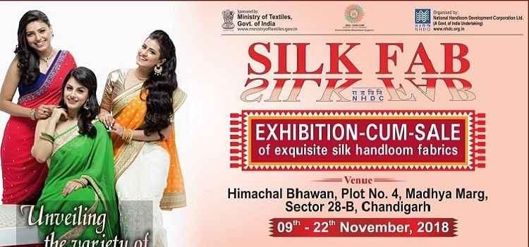 Silk Fab: Exhibition-Cum-Sale At Himachal Bhawal, Chandigarh