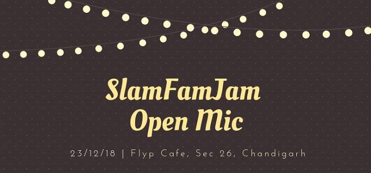 SlamFam Jam Open Mic At FLYP Cafe