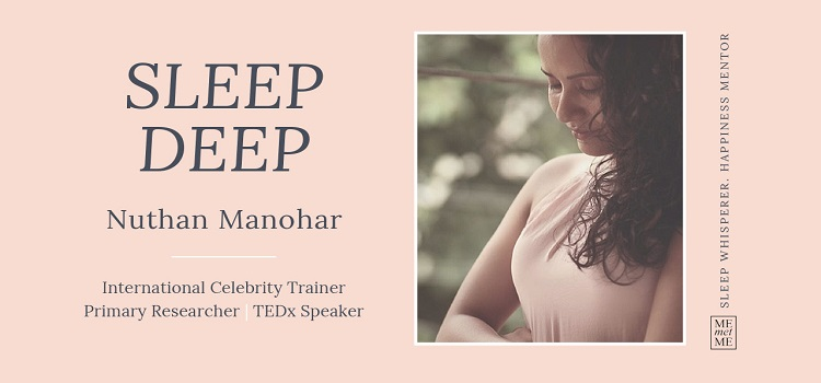 Sleep Deep Session With Nuthan Manohar by Online Events
