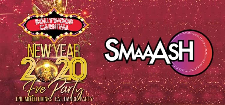 Smaaashin New Year's Eve At Smaaash Chandigarh
