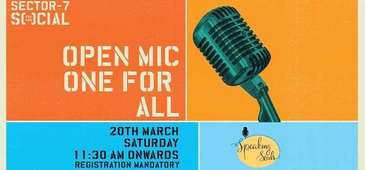 Sector 7 Social Presents Open Mic For All