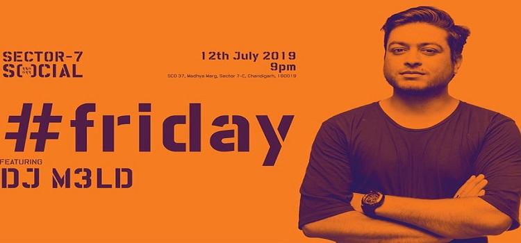 Friday Night ft. DJ M3LD at Social Chandigarh