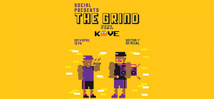 Social Presents: The Grind ft. Dj Kave by Social Sector 7