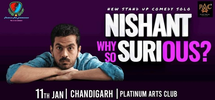 Stand Up Comedy At Platinum Arts Club Chandigarh