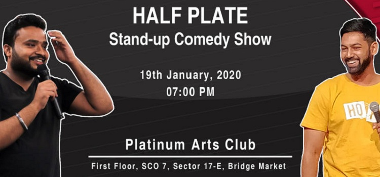 Stand Up Comedy At PAC Chandigarh by Platinum Arts Club