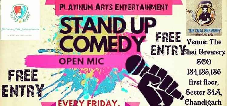Stand Up Comedy Open Mic Vol 19 At chai Brewery