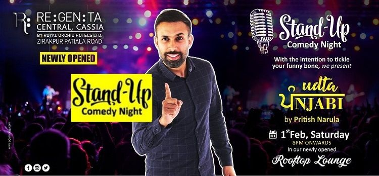 Comedian Pritish Narula At Regenta Central Cassia
