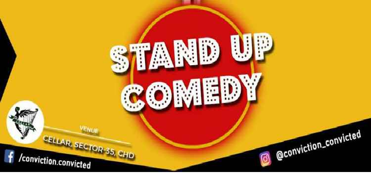 Tickle Your Funny Bones at Stand Up Comedy Show by Cellar Chandigarh!