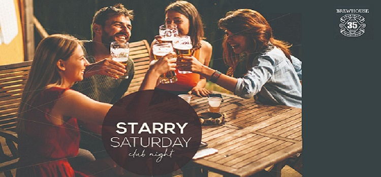 Starry Saturday Club Night At 35 Brewhouse