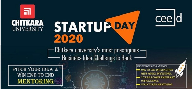 Start Up Day 2020 At Chitkara University by Chitkara University
