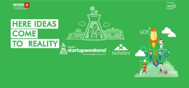 Startup Weekend Baddi - Join The Global Movement! by Chitkara University