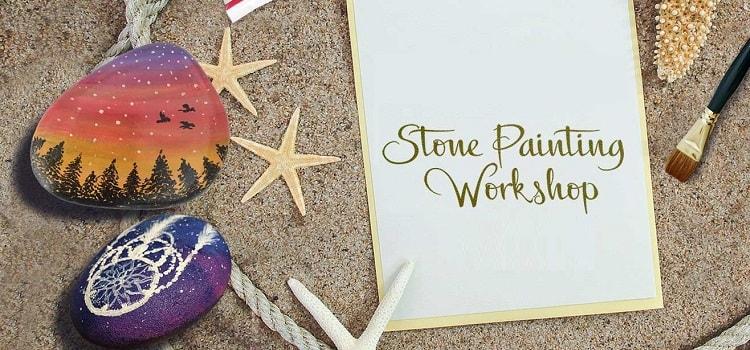 Valentine Special - Stone Painting Workshop