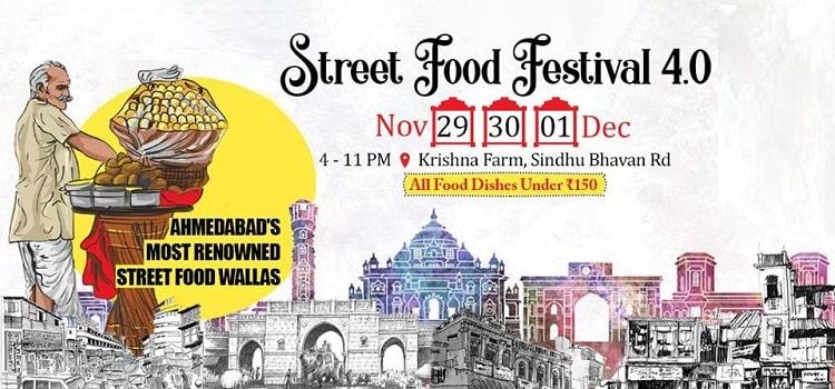 Street Food Festival In Ahmedabad