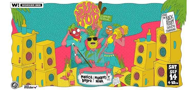 Sum It Up - A Summer Festival In Chandigarh by The Back Room