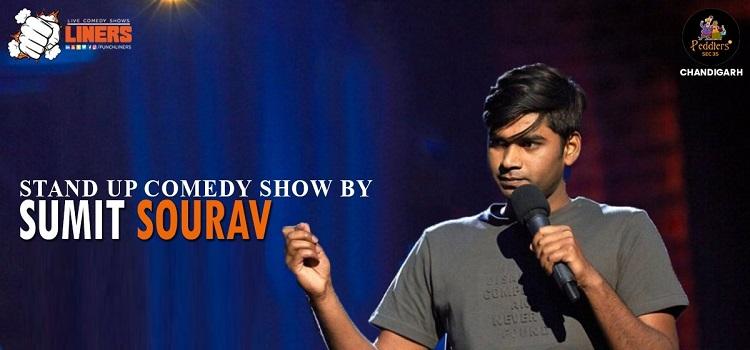 Comedian Sumit Saurav Live At Peddlers Chandigarh