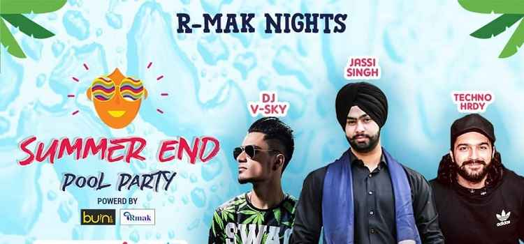Summer End Pool Party at The Village Chandigarh