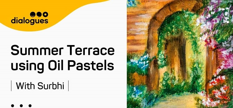 Online Painting Class Using Oil Pastels