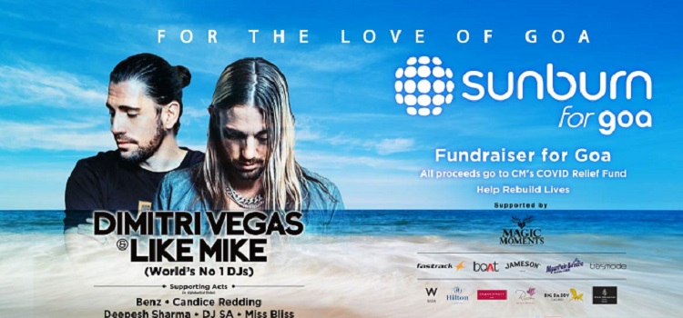 Sunburn For Goa - Online Fundraiser
