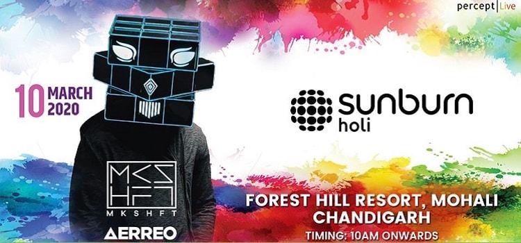 Sunburn Holi At Forest Hill Resort Chandigarh