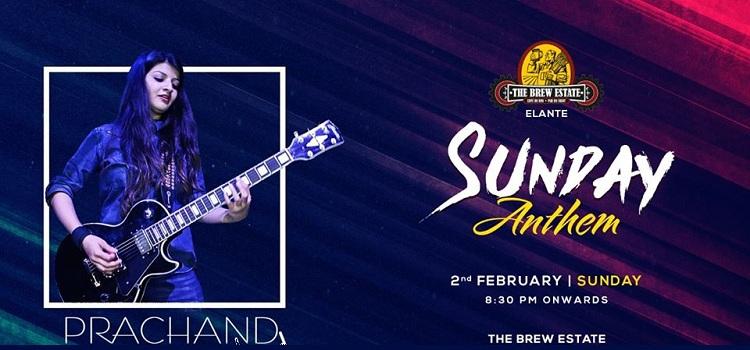 Prachand Band Live At The Brew Estate Elante