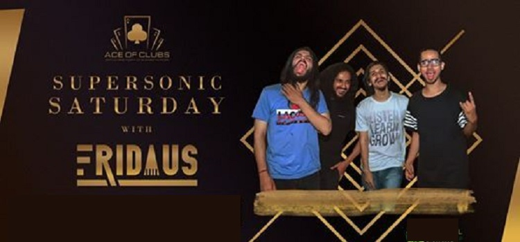Supersonic Saturday With Fridaus In Chandigarh